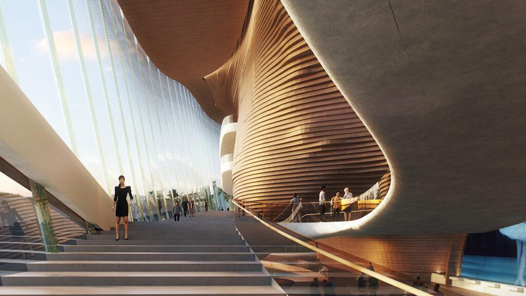 wHY Architecture lädt zum Tanz. (Bild: wHY / AtChain)