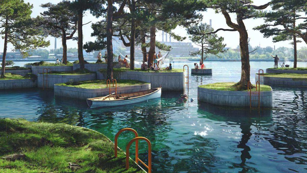 Copenhagen Islands von Marshall Blecher und Studio Fokstrot