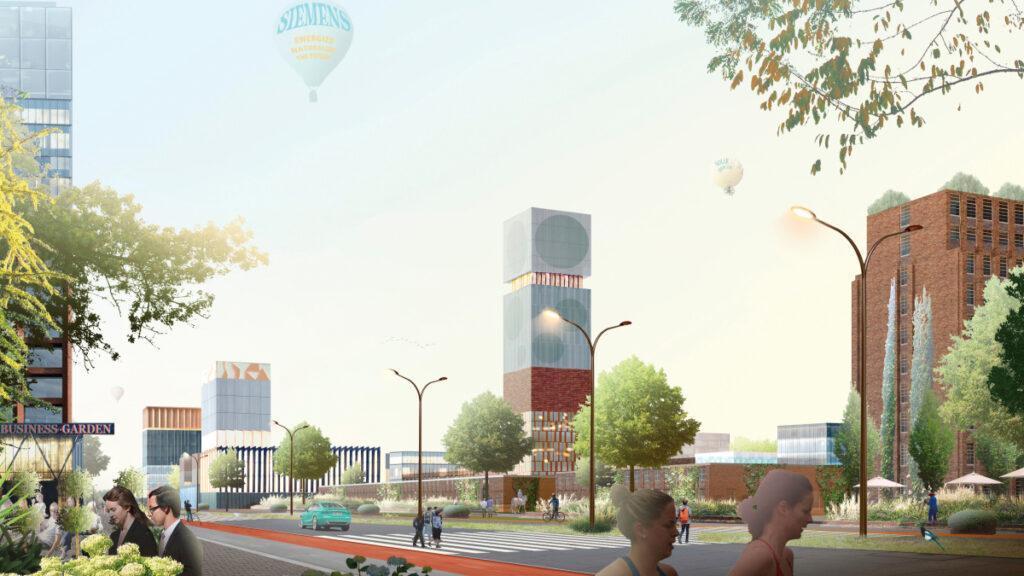 The new Siemensstadt