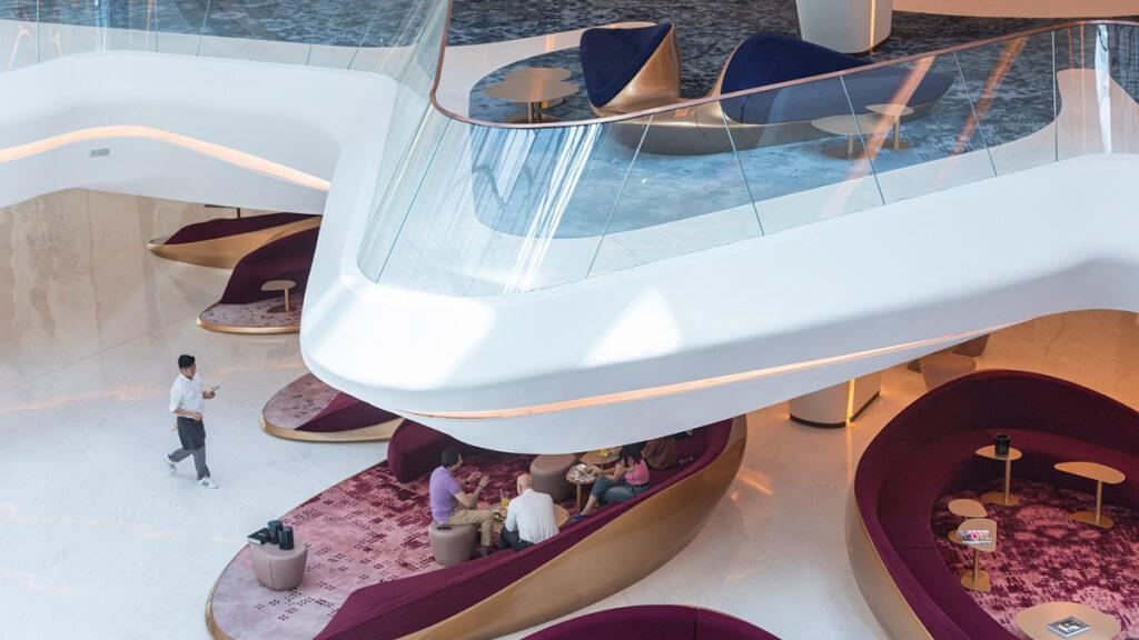 Lobby balcony Melia