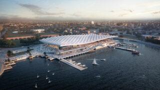 Top-Design Top-Design für Sydneys Fish Market. (Bild: 3XN)