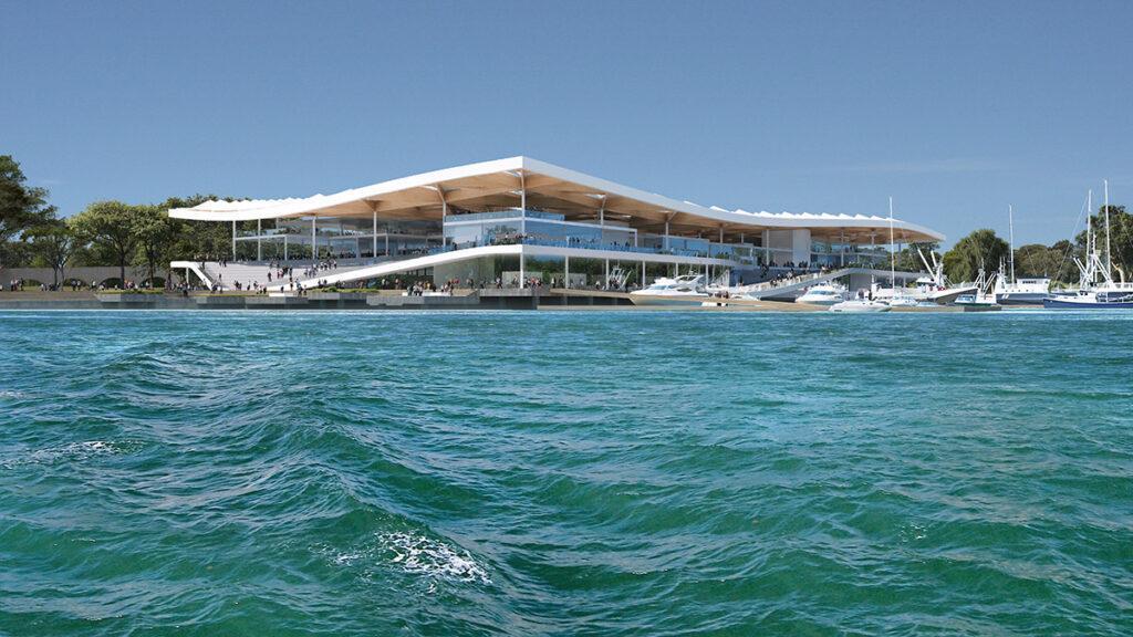Top-Design für Sydneys Fish Market. Ressourcenschonung und Umweltschutz sind essenzielle Teile des Konzepts. (Bild: mir)