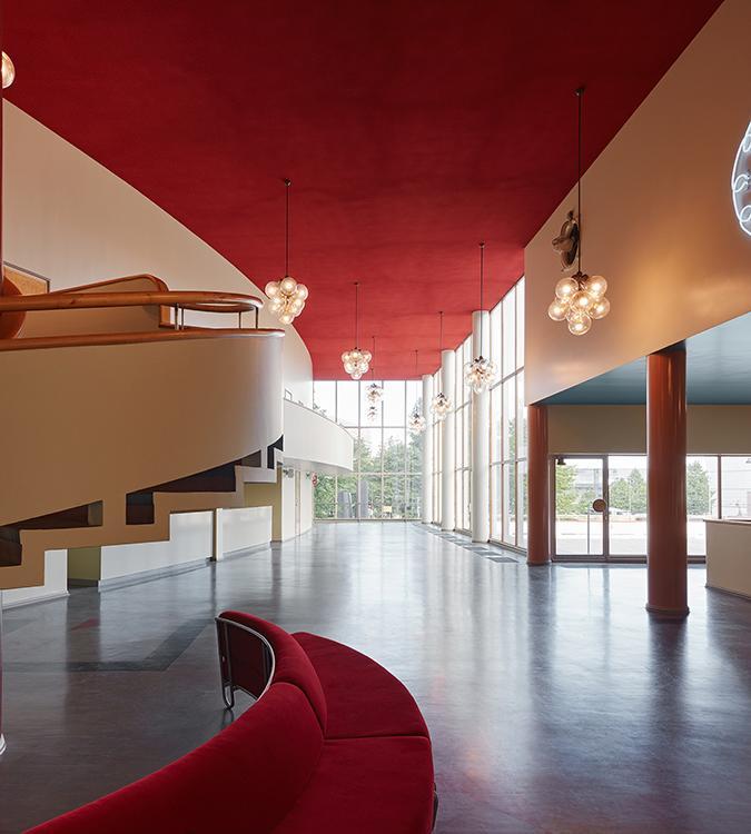 Überirdisch unterirdisch: Amos Rex! Auch der historische Komplex wurde vom Büro JKMM restauriert. (Bild: JKMM / Tuomas Uusheimo)