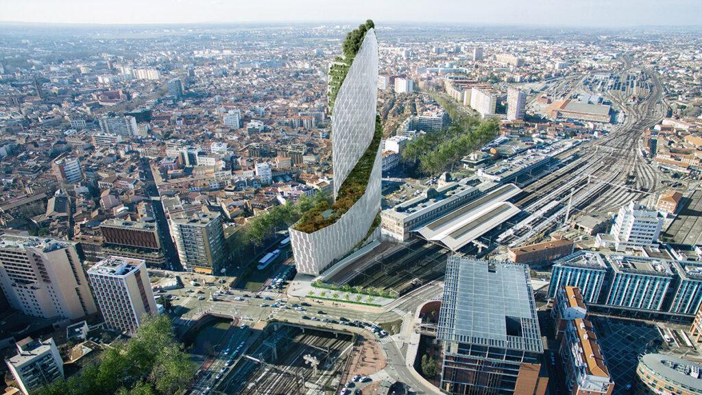 Wolkenkratzer-Premiere für Toulouse (Bild: LUXIGON)