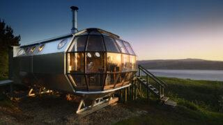 "Hippie(t)raumkapsel ""AirShip"". (Bild: Nigel Rigden)"