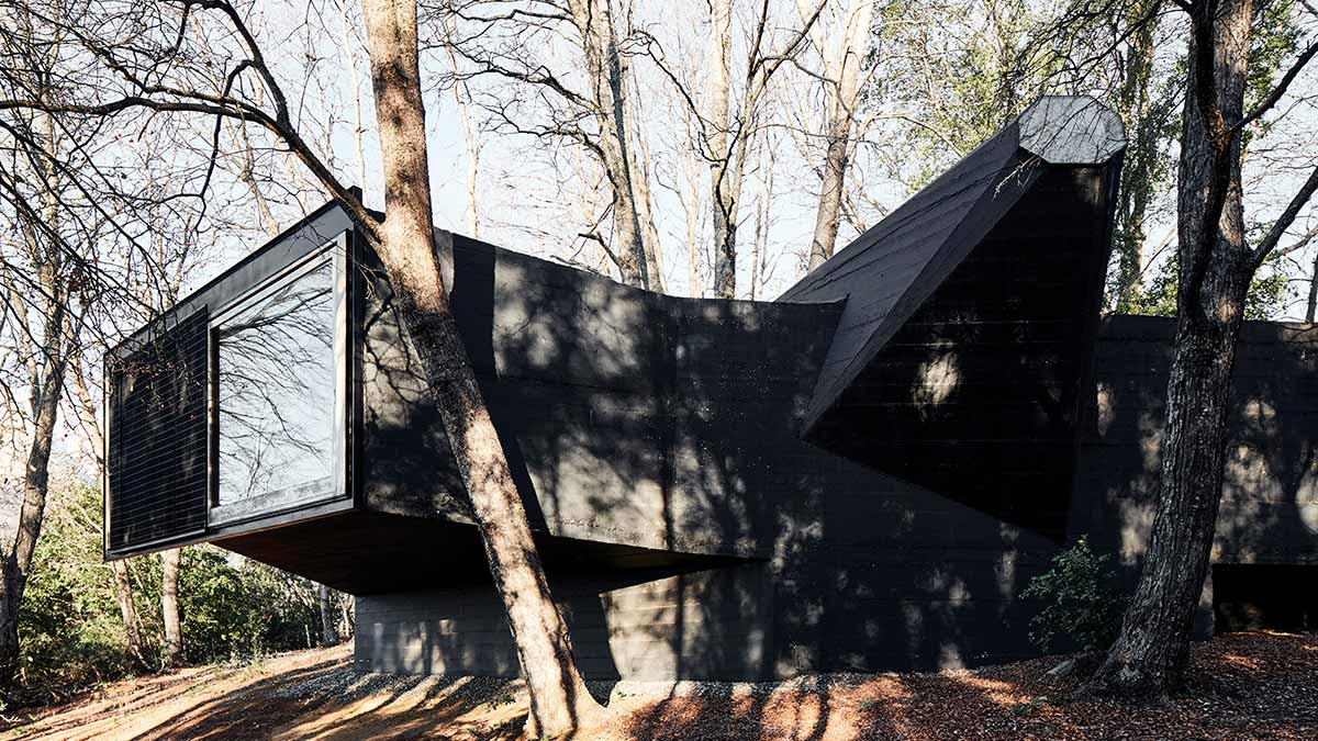 House for the Poem of the Right Angle in Chile, Smiljan Radić