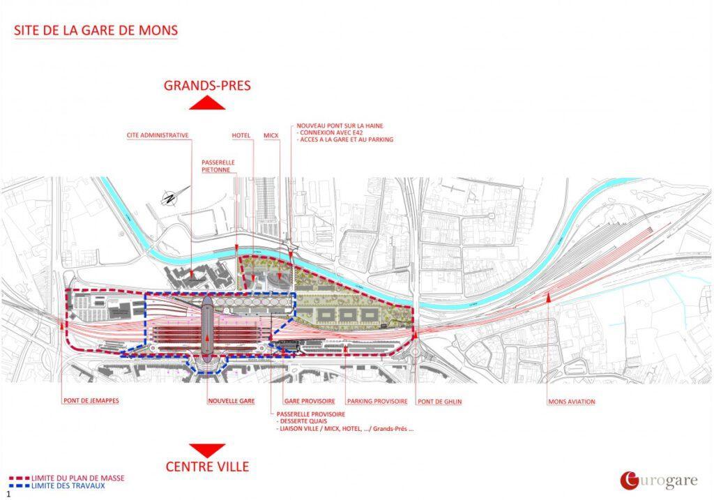 Plan von Eurogare