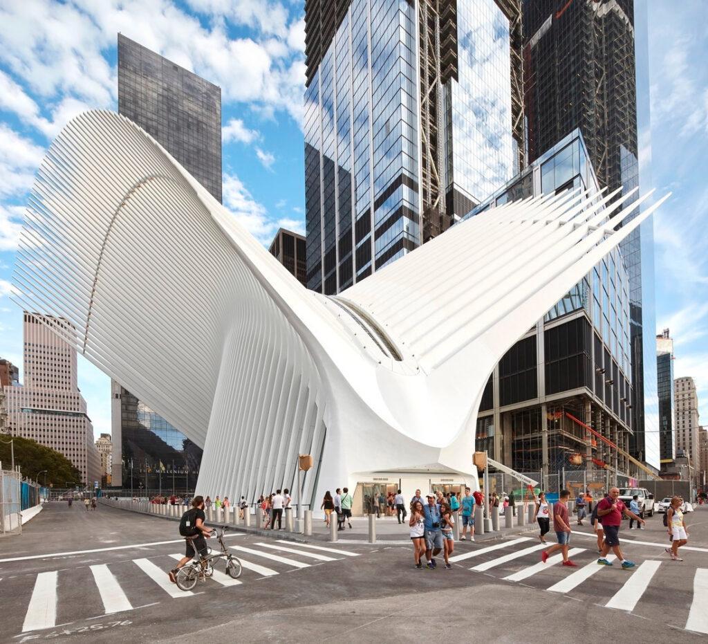 PATH Oculus am Ground Zero