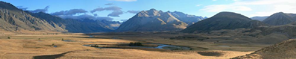 Die Südalpen Neuseelands