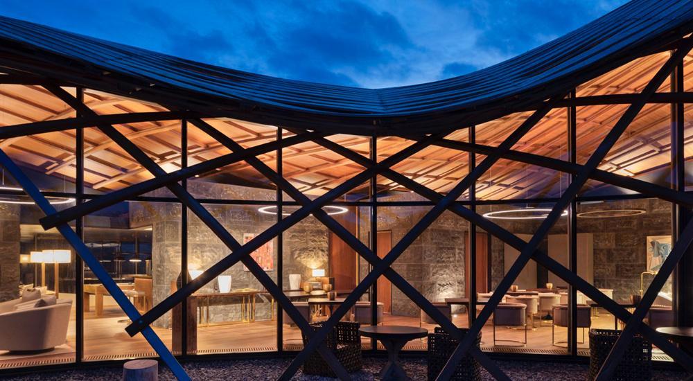vom Architekturbüro Architecture Workshop entworfen