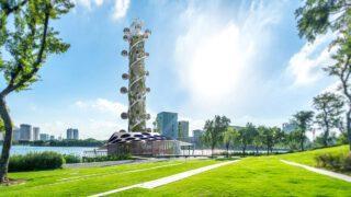 Der klimaneutrale Spiral Tower