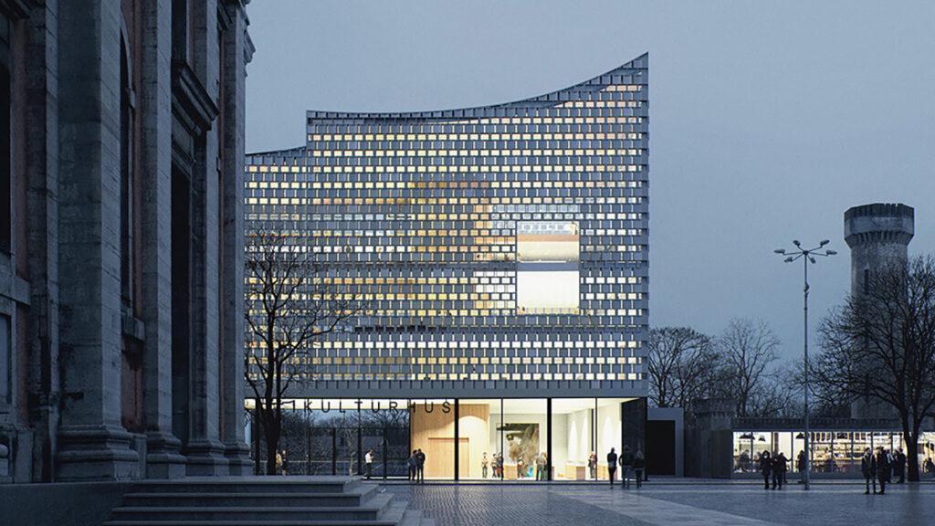 Dorte Mandrup's Culture House for Karlskrona. (Image: MIR)