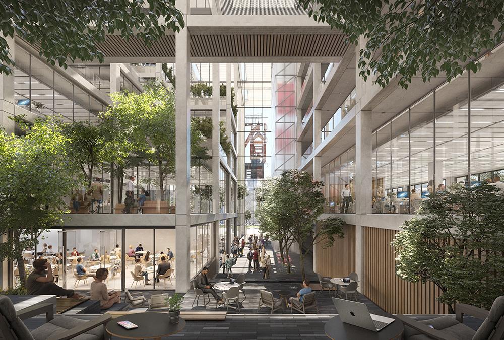 Foster + Partners' flex office in Belval