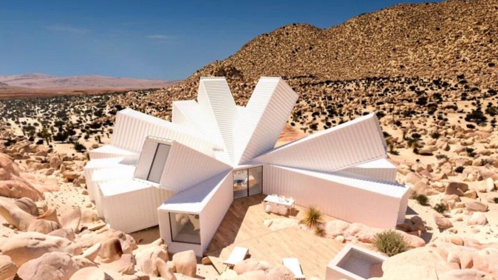 Chris Hanley's Container House designed by James Whitaker