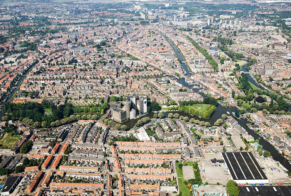 """Leiden """"entstaubt"""" die Meelfabriek. (Bild: Studio Akkerhuis)"""