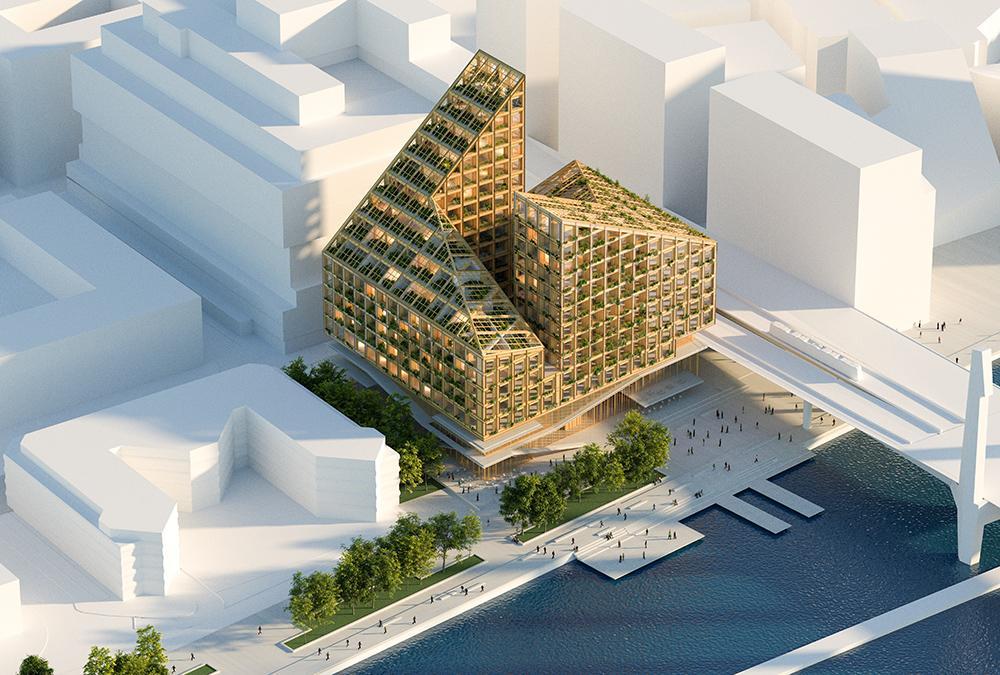 """Dorte Mandrup's design for Gothenburg's """"Kromet"""". (Image: Dorte Mandrup)"""