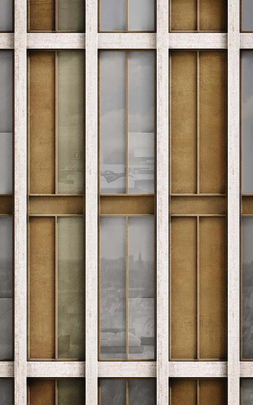 Detailgetreu konzipierte Fassaden der revitalisierten Meelfabriek in Leiden. (Bild: Studio Akkerhuis)