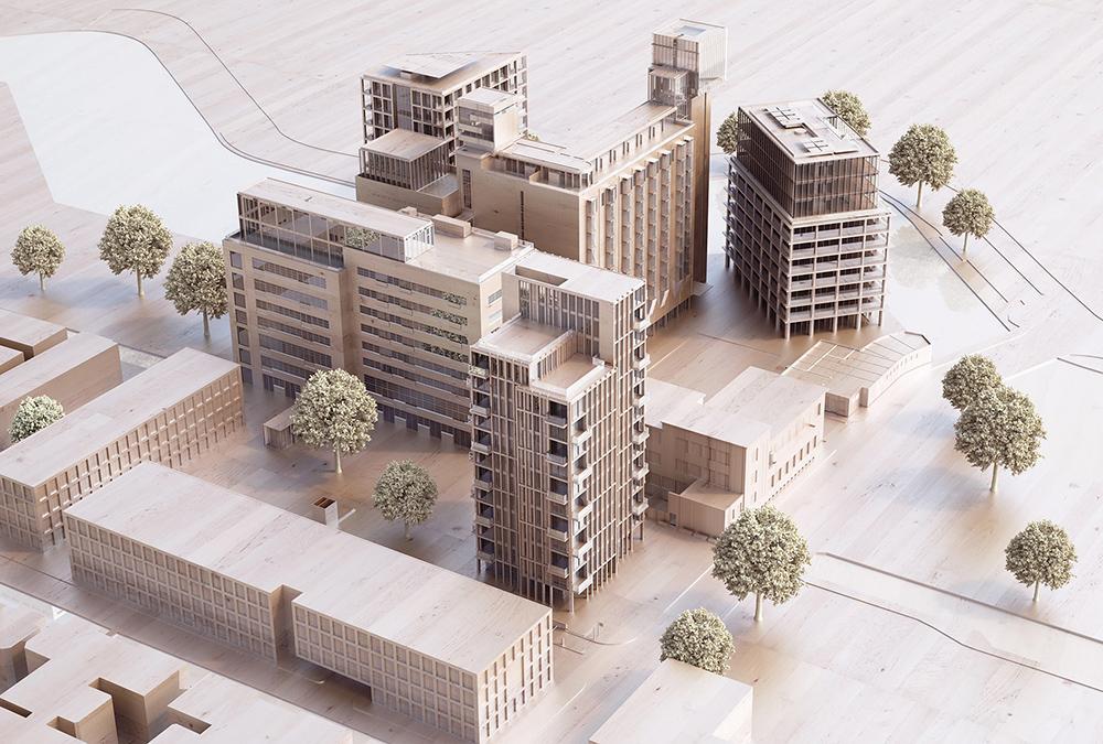 """Leiden """"entstaubt"""" die Meelfabriek. Das neue Konzept hebt Architekt Zumthors Masterplan auf die nächste Ebene. (Bild: Studio Akkerhuis)"""
