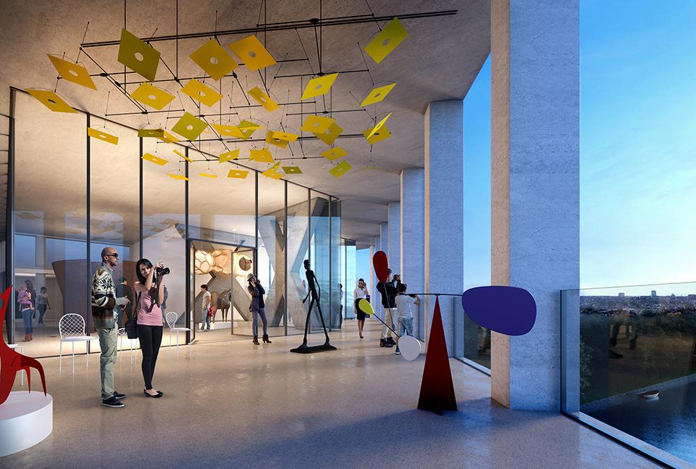 Viel Öffentliches Programm und ein Kulturzentrum sollen Besucher in Leidens neue Meelfabriek locken. (Bild: Studio Akkerhuis)