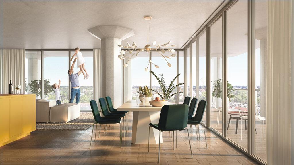 """Leiden """"entstaubt"""" die Meelfabriek. Große Fensterflächen werden für viel Tageslicht und Fernblick sorgen. (Bild: Studio Akkerhuis)"""