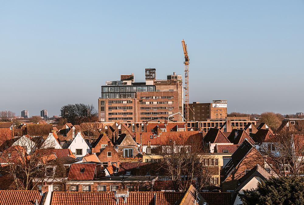 """Leiden """"entstaubt"""" die Meelfabriek. Die Umbau- und Revitalisierungs-Arbeiten laufen bereits. (Bild: Corentin Haubruge)"""
