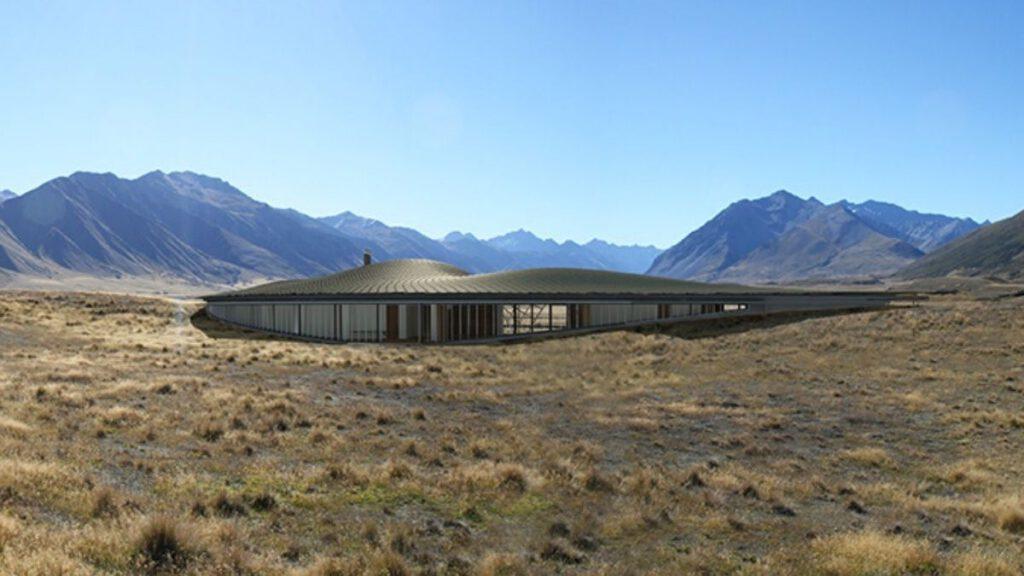 Lindis Lodge mitten im Ahuriri-Tal