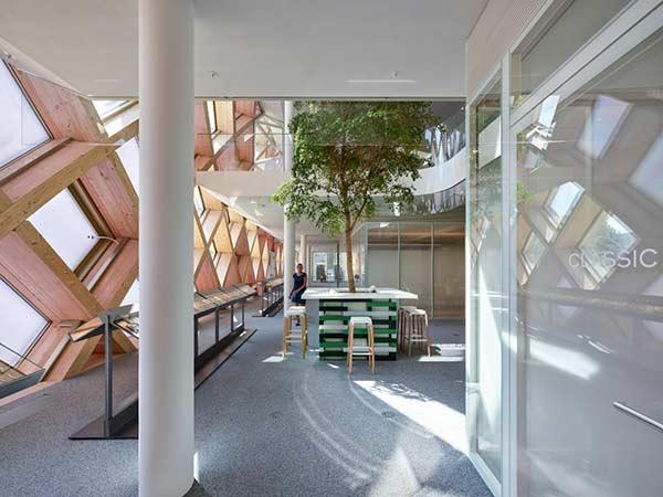 Interior, Swatch HQ