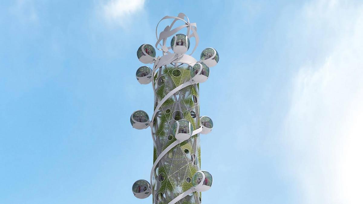 Spiral Tower, Northern Light