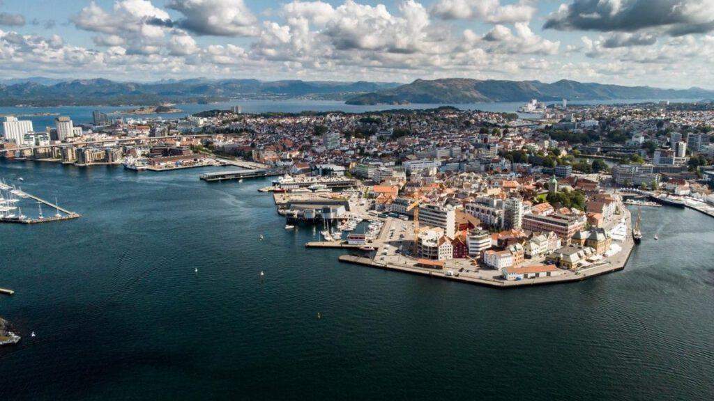 Stavangers einzigartige Lage am Meer