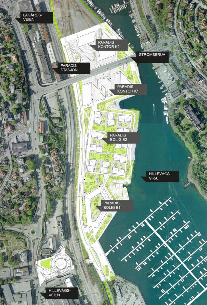 Der Masterplan von Ghilardi Hellsten Arkitekter