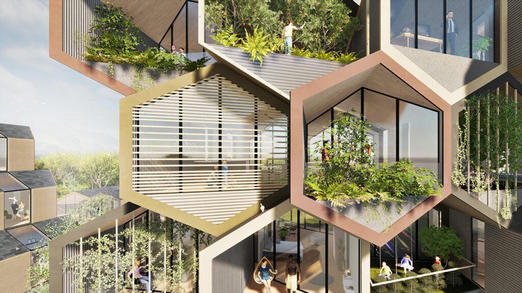 Ein Bienenstock als Wohnmodell (Bild: Gianluca Santosuosso)