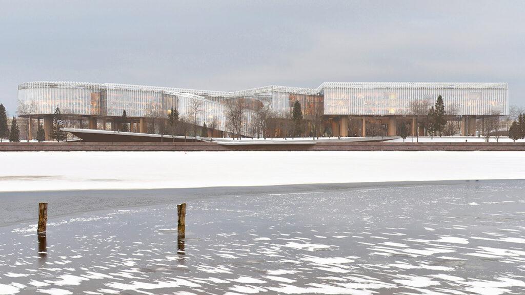 Auf Eis gelegt: Der Traum vom größten Holzbau der Welt ist vorerst ausgeträumt. (Bild: MIR)