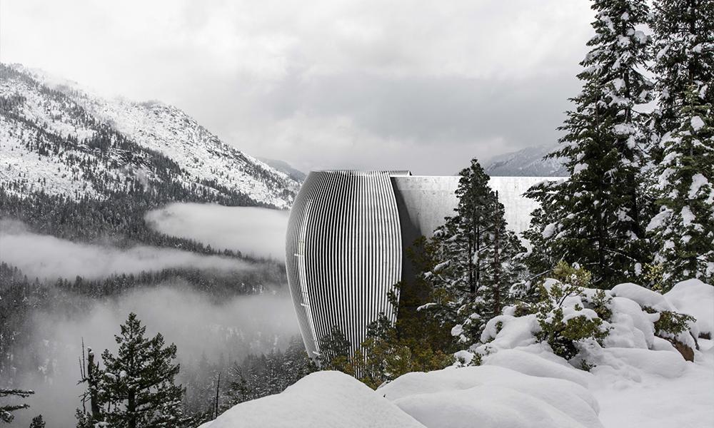 """Hanfbeton schlägt Wohn-Wellen. """"The Verge"""" könnte in den Bergen ebenso gebaut werden wie am Meer. (Bild: Antony Gibbon)"""