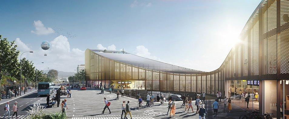 neuer Bahnhof Paradis