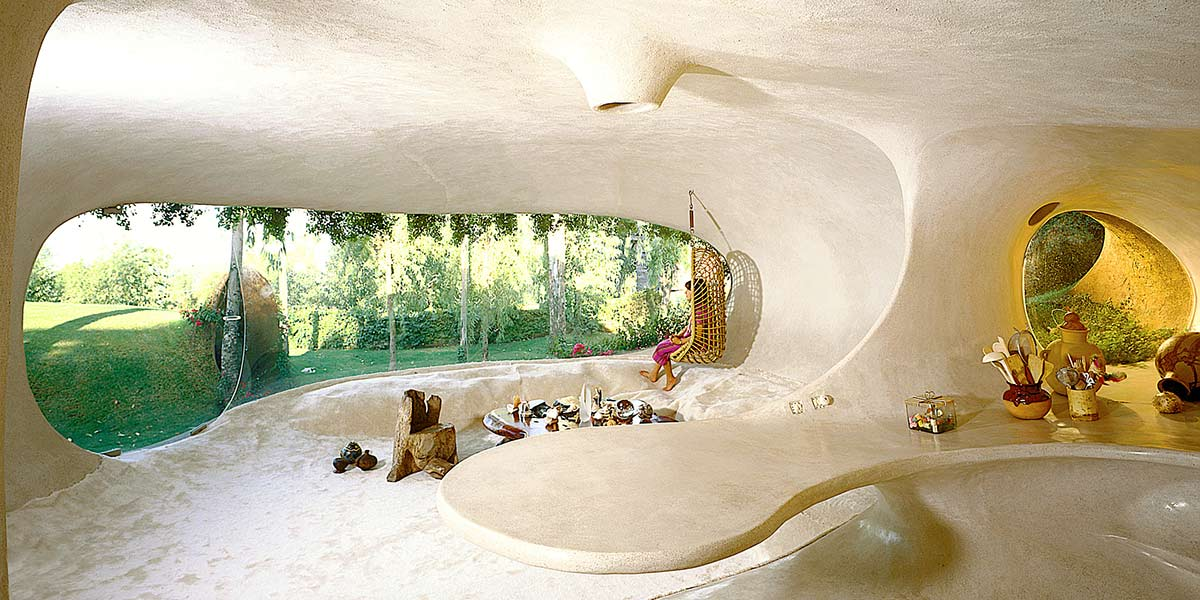 Casa Organica, Wohnraum