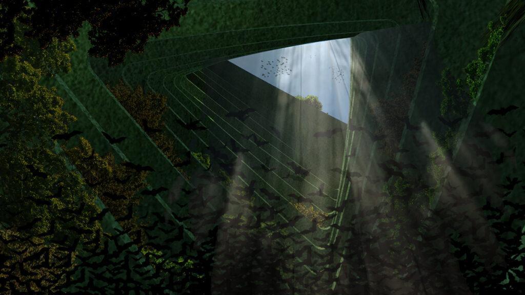 """Teil der Stadt und trotzdem ungestört: """"Sea Tree"""" soll Tieren und Pflanzen neue Lebensräume schaffen. (Bild: Architect Koen Olthuis, Waterstudio)"""