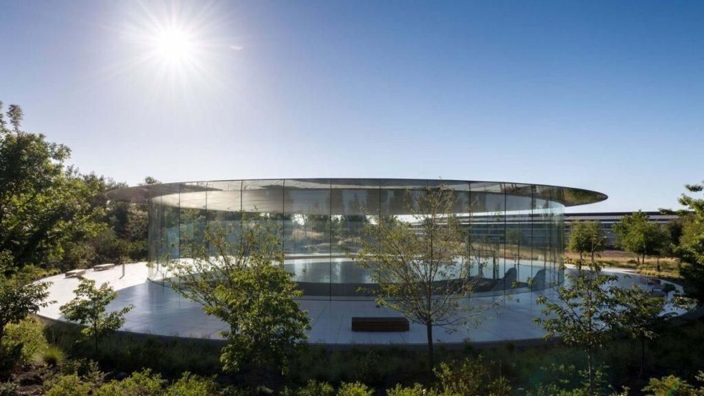 Der Apple Park ist ein Kreis