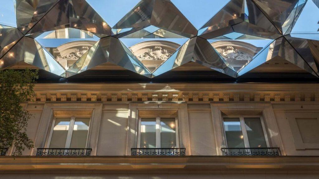 Dach wie ein Kaleidoskop