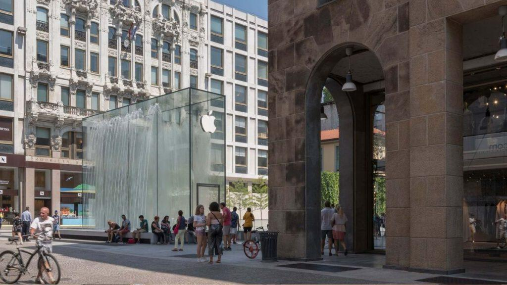 Apple Store in Mailand