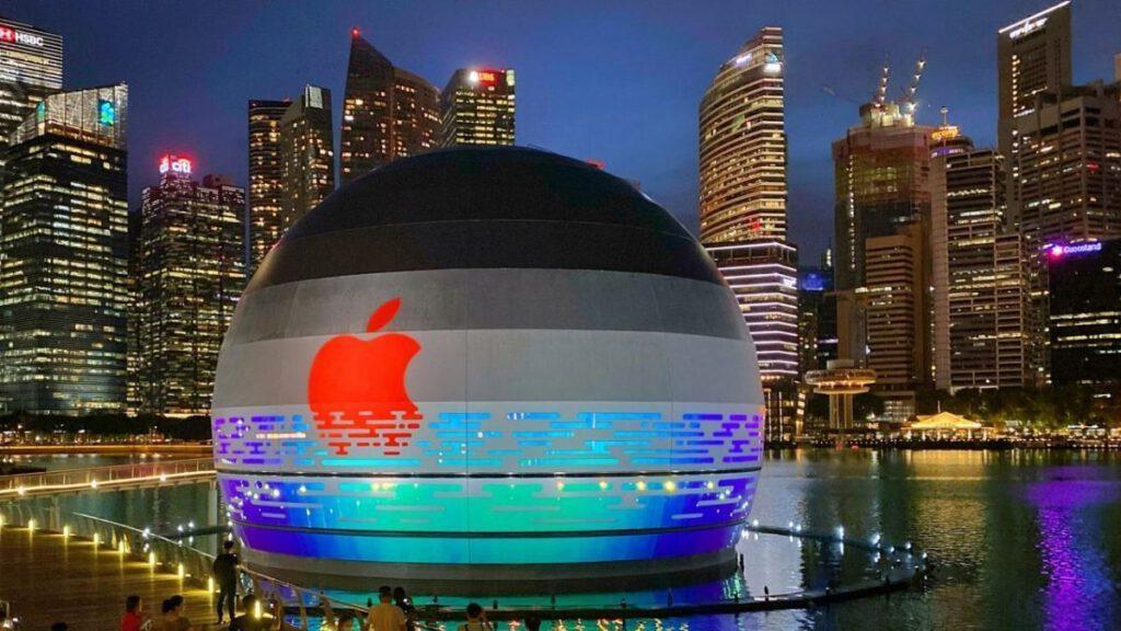 Apple Store Marina Bay Sands Singapore