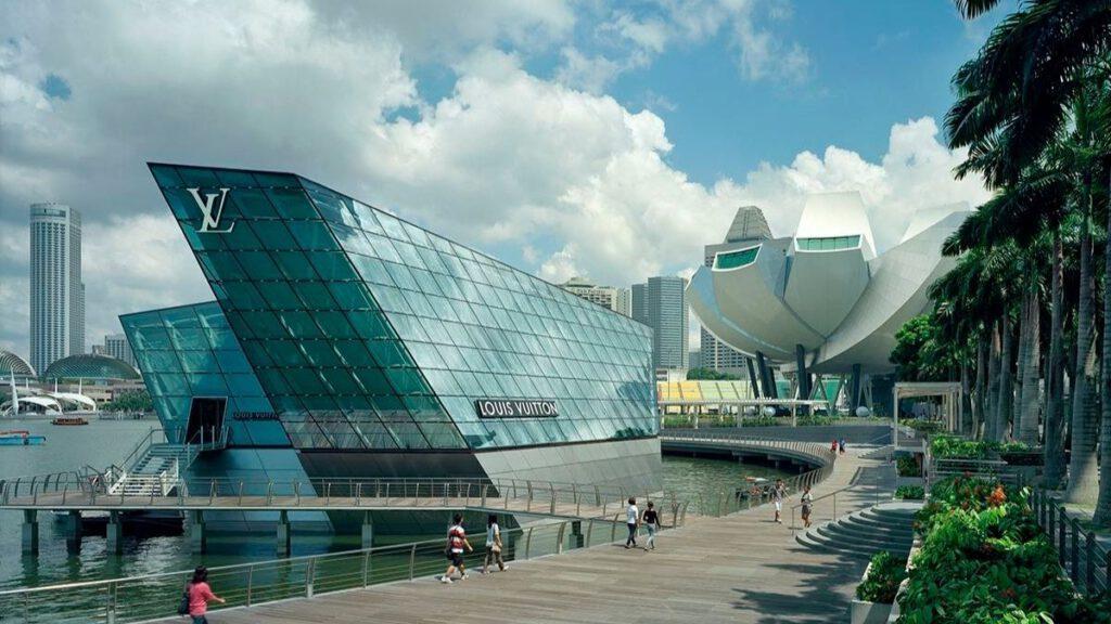 Louis Vuitton Pavillon Singapur