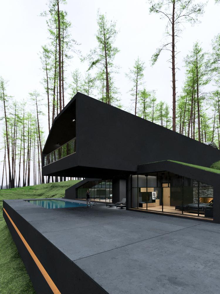 Schwarze Villa