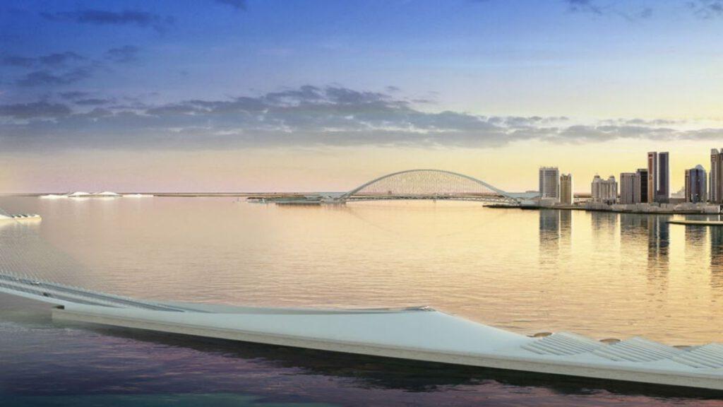 Sharq Crossing Calatrava