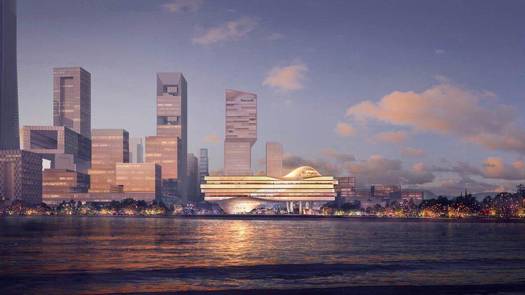 Shenzhen Wave Skyline, Ole Scheeren