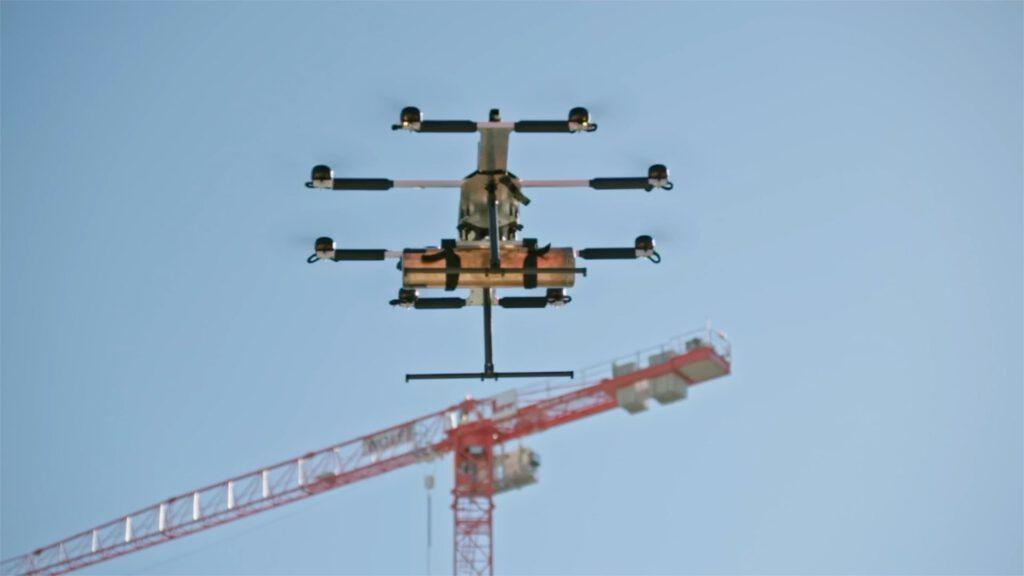 Der Drohnenflug