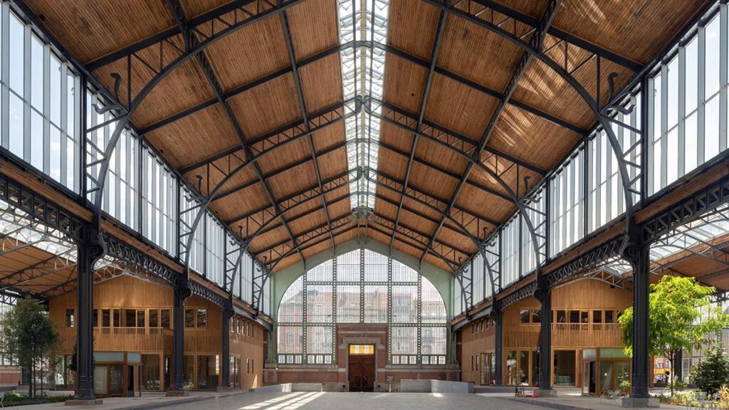Gare Maritime restored in timber splendour