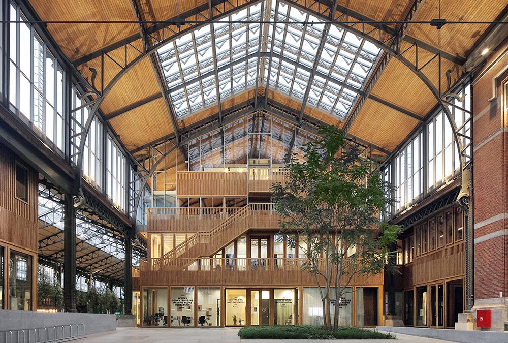 Gare Maritime restored with timber