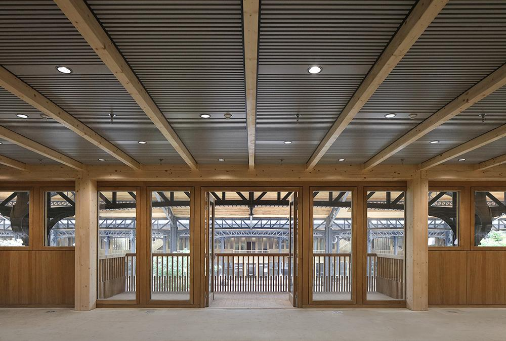 Inside the Gare Maritime