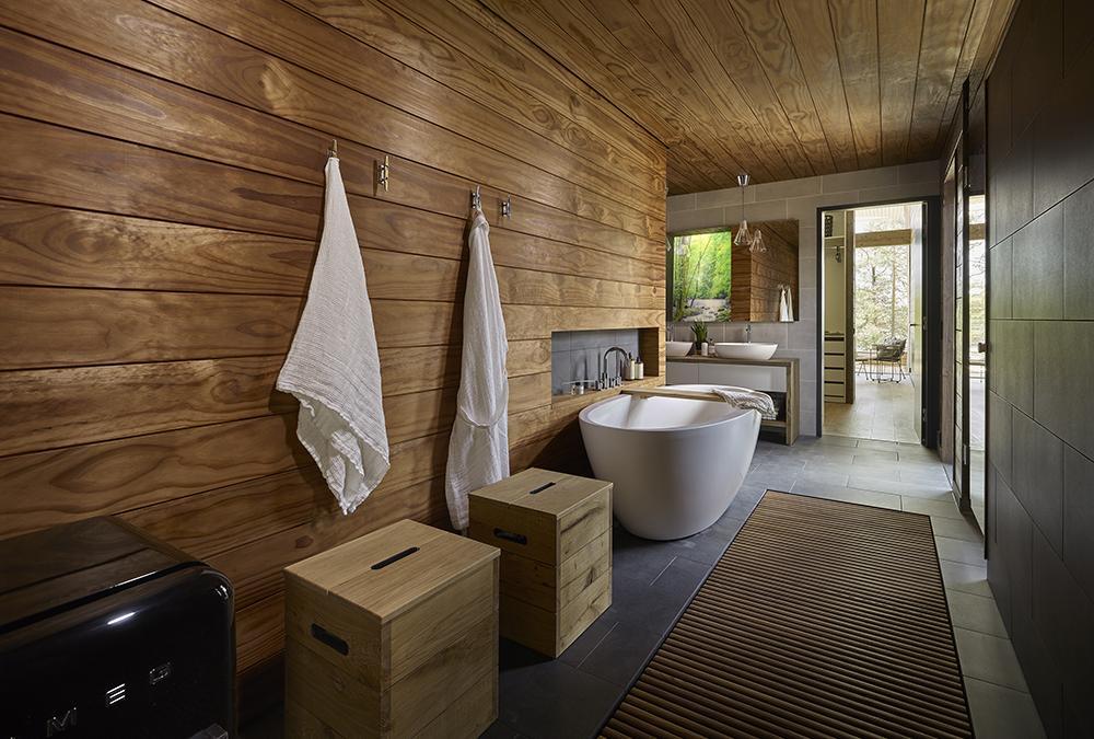Natürlich darf eine Sauna im finnischen Traumhaus auch nicht fehlen. (Bild: Hans Koistinen)