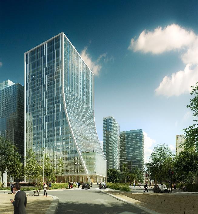 KPF Architects entwarfen One Bank Street in London